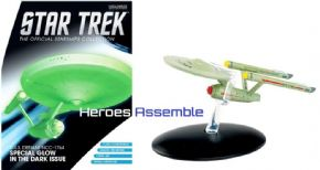 Star Trek Official Starships Collection Special USS Defiant NCC-1764 Glow In Dark Eaglemoss
